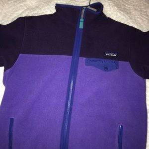 Patagonia Fleece Synchilla Full Zip Up Jacket